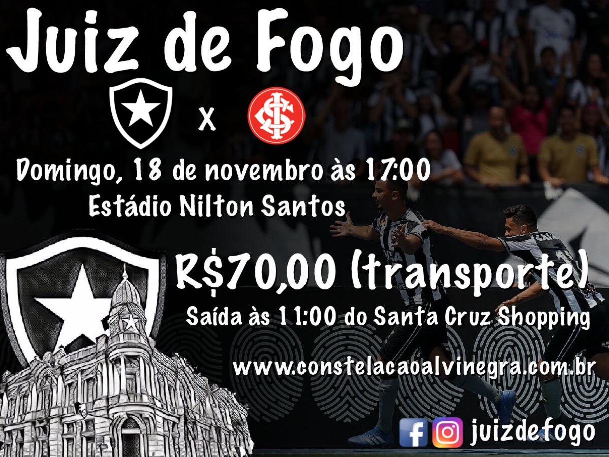 Caravana Botafogo x Internacional