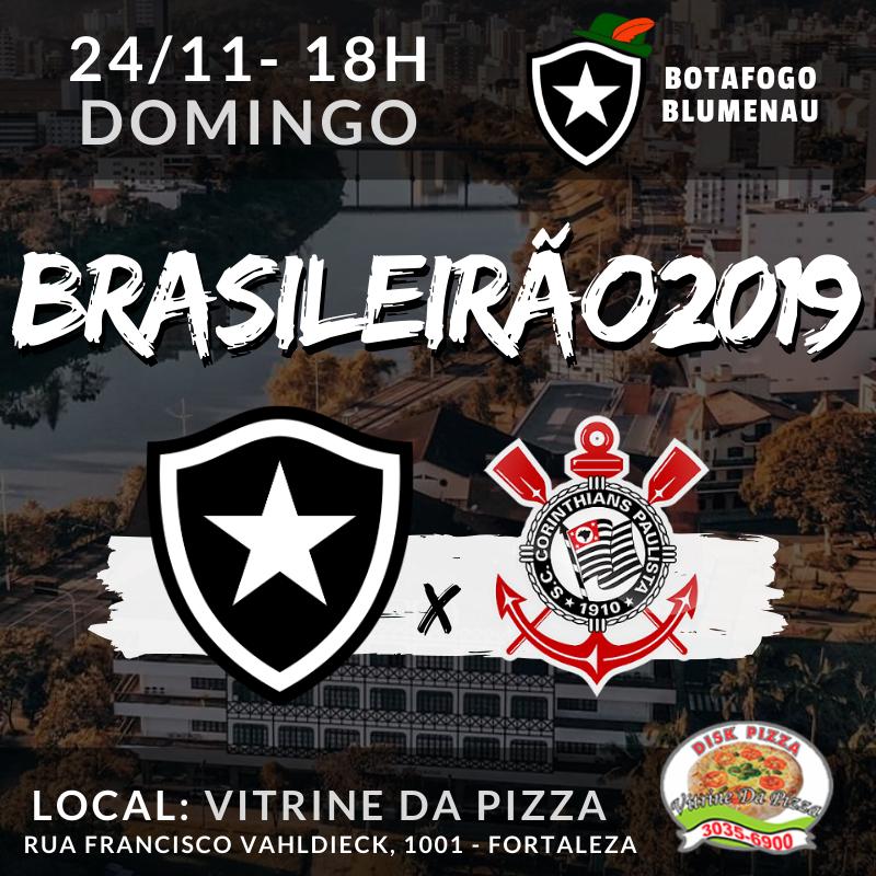 Botafogo x Corinthians - Brasileirão