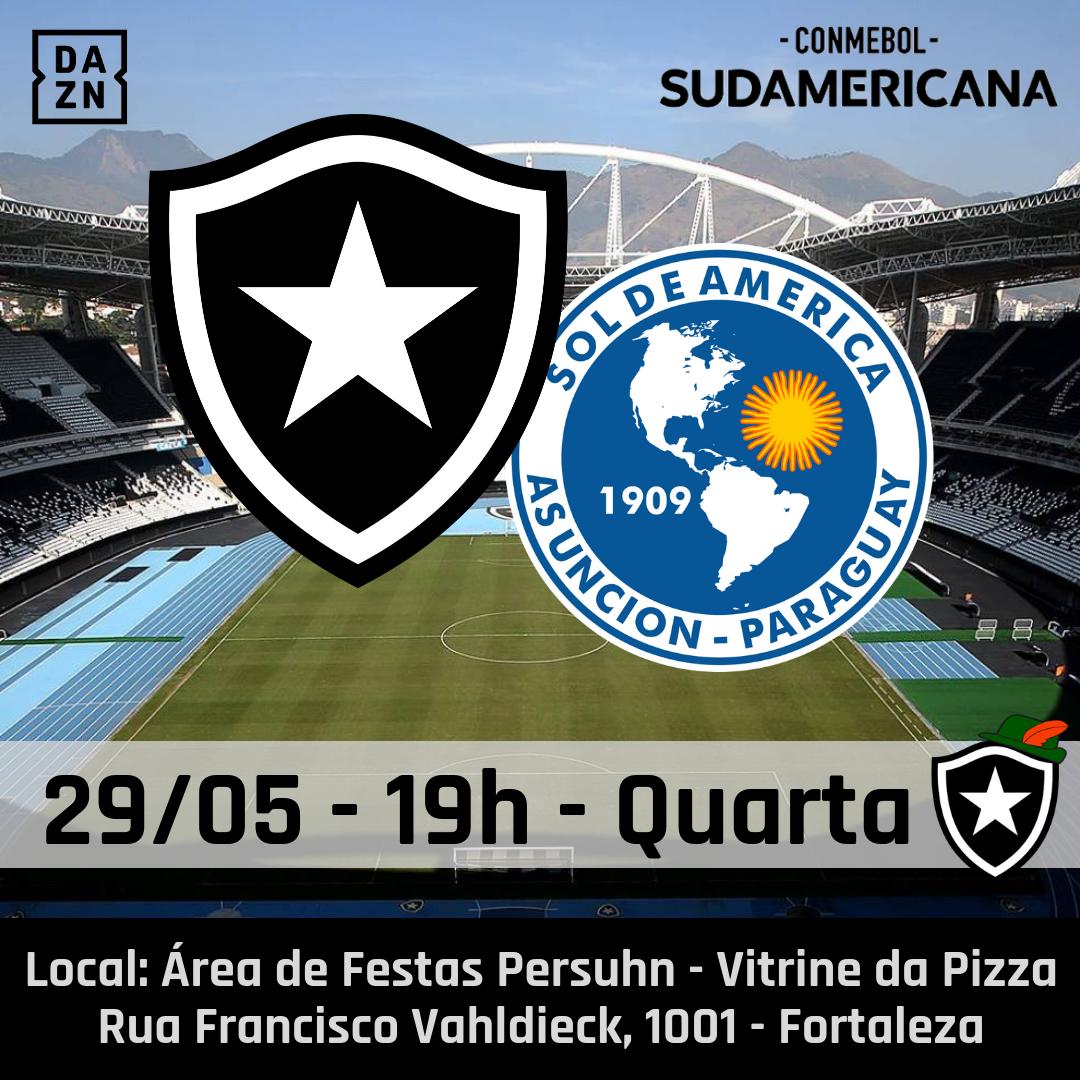 Botafogo x Sol de América - Botafogo Blumenau nos Persuhn