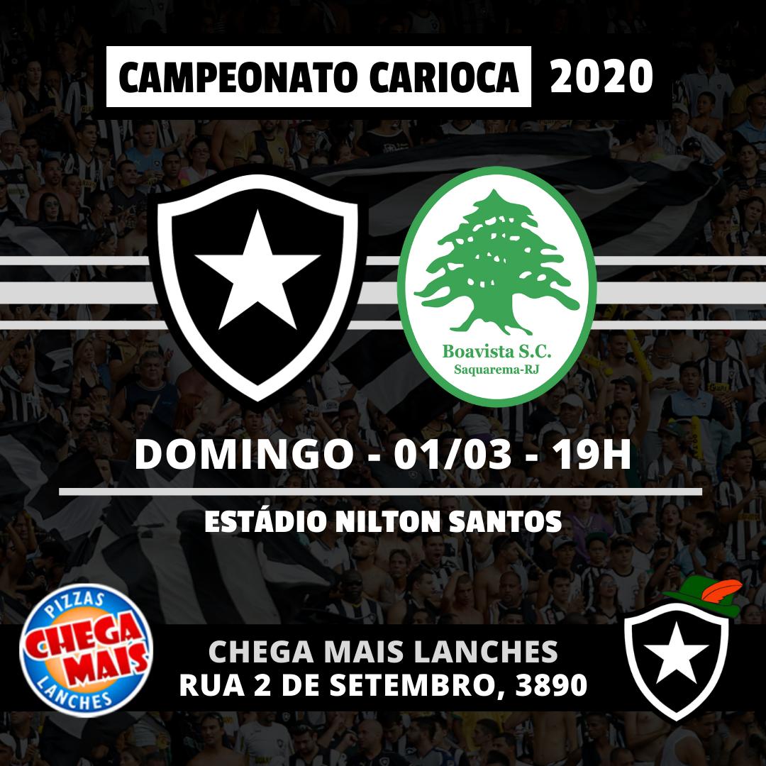 Botafogo x Boavista - Carioca