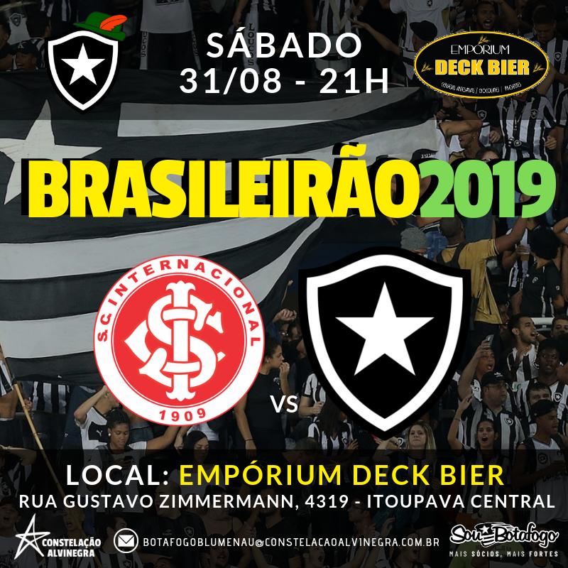 Internacional x Botafogo - Brasileirão no Empórium