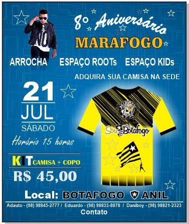8° ANIVERSÁRIO Botafoguenses do Maranhão