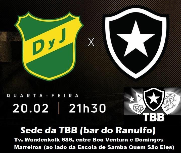 Defensa Y Justicia x Botafogo (Sul-Americana)