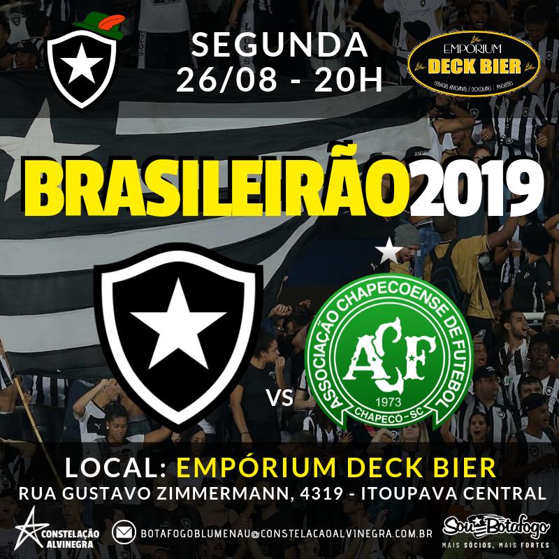 Botafogo x Chapecoense - Brasileirão no Empórium