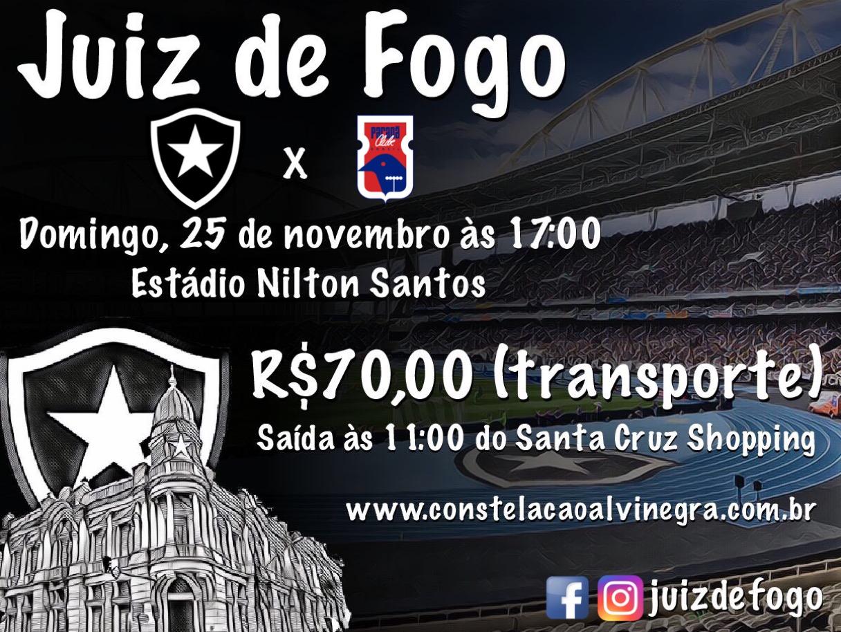Caravana Botafogo x Parana