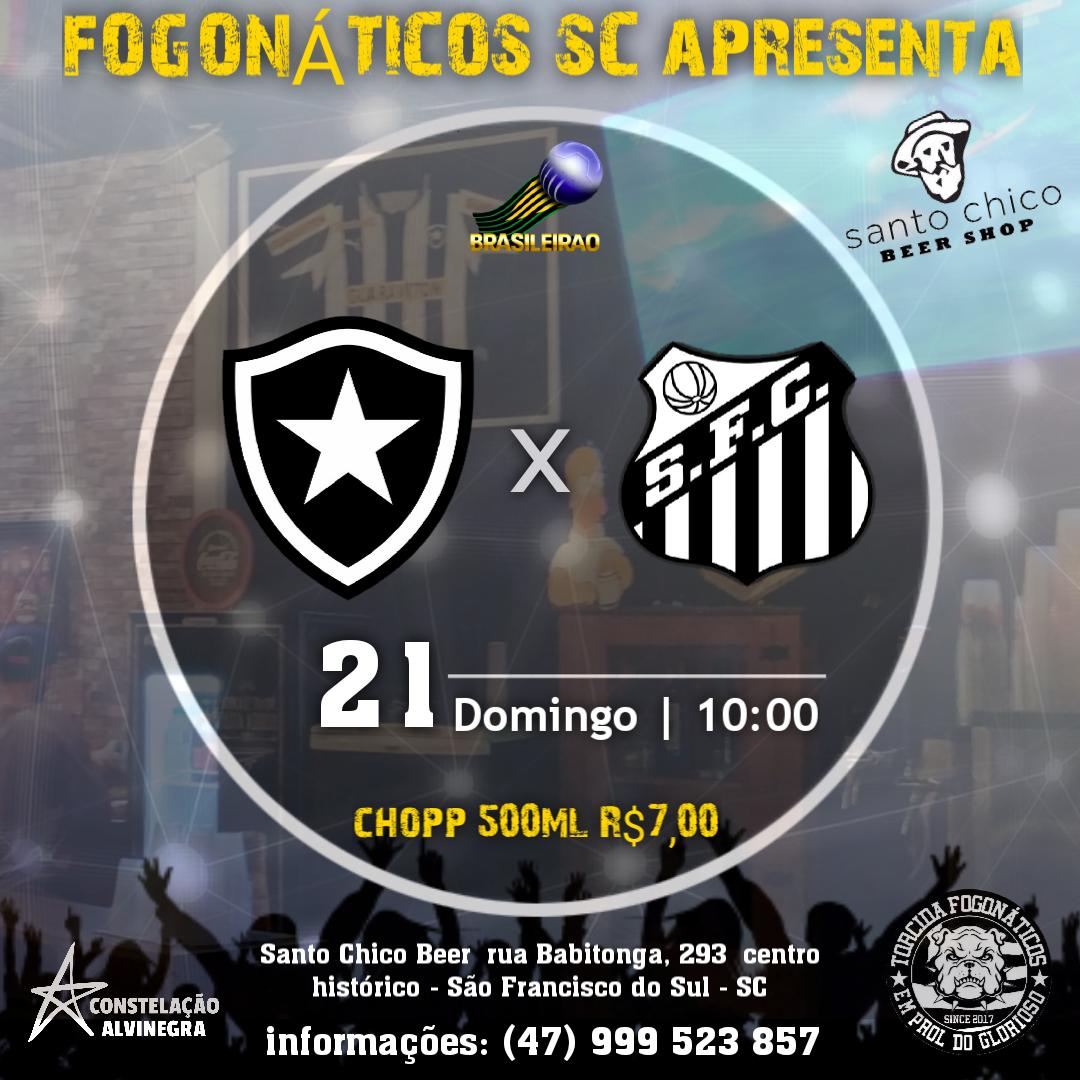 Botafogo x Santos