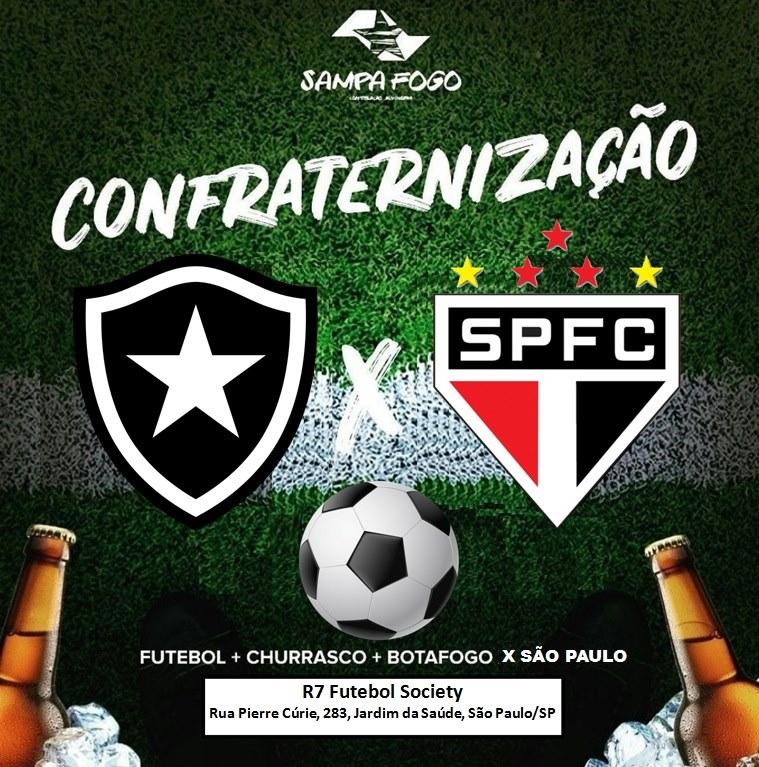 Botafogo x São Paulo (FUTCHURRAS - R7 Society)