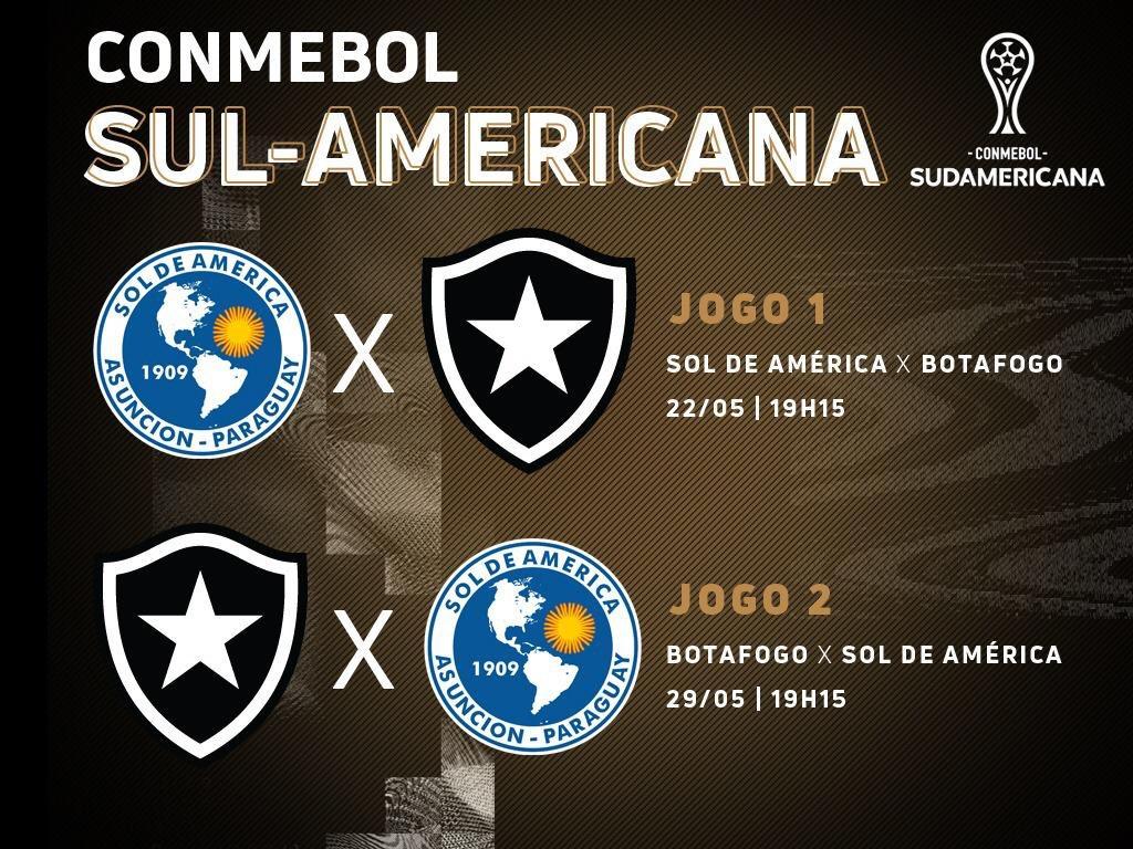 Botafogo x Sol da América (Copa Sul- Americana)