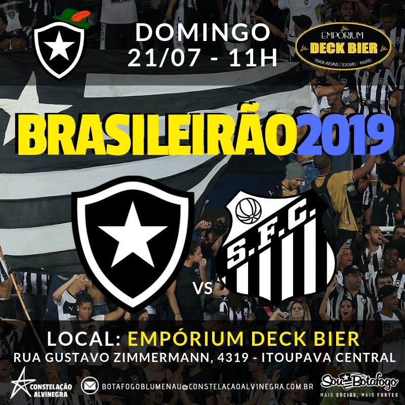 Botafogo x Santos - Brasileirão no Empórium