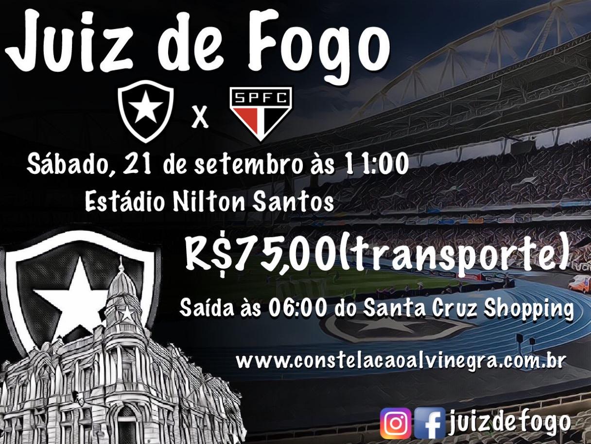 Caravana BOTAFOGO x São Paulo
