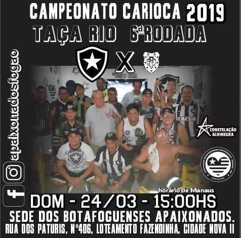 Campeonato Carioca 2019 Botafogo x Resende
